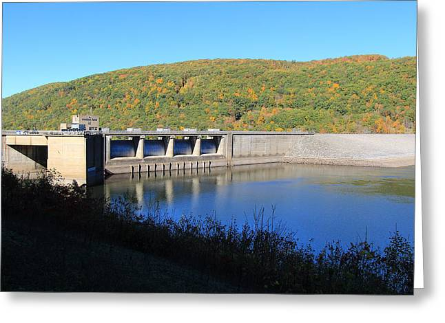 Kinzua Dam Greeting Card