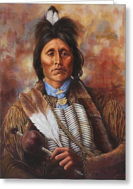 Kiowa Greeting Card