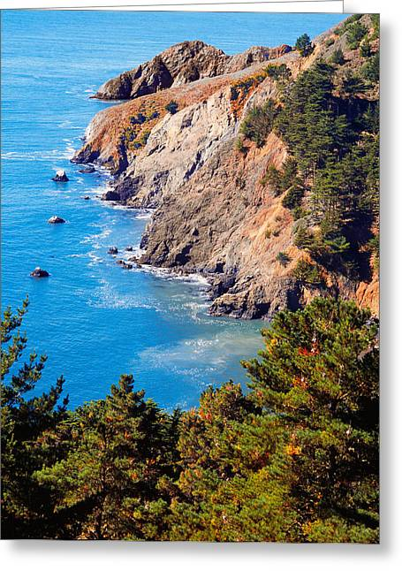 Kirby Cove San Francisco Bay California Greeting Card by Utah Images