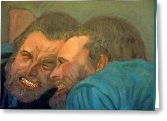 Kirk Douglas As Vincent Van Gogh In Lust For Life Greeting Card