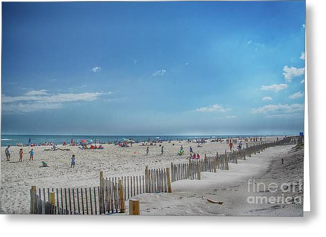 Greeting Card featuring the photograph Kismet Family Fun by Judy Hall-Folde