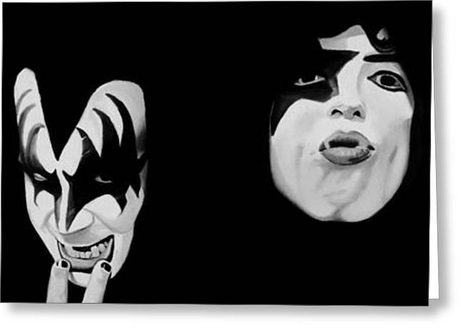 Kiss 78 Greeting Card by Brian Broadway