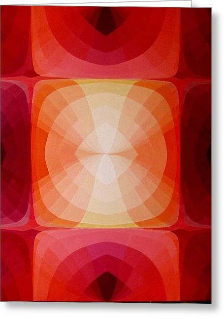 Kiss Of Light Greeting Card by Rui Coelho dos Santos