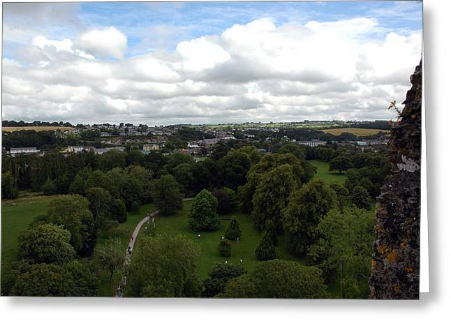 Greeting Card featuring the photograph Kiss The Blarney Stone by Dianne Levy
