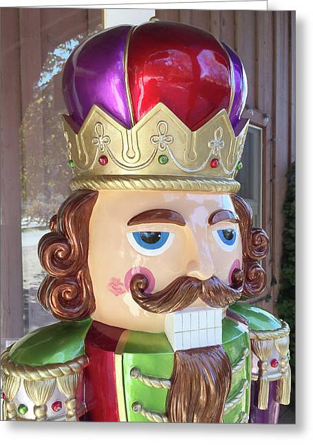 Kiss The Nutcracker Greeting Card