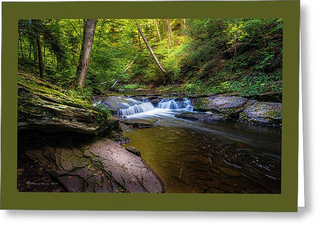 Kitchen Creek Greeting Card by Marvin Spates
