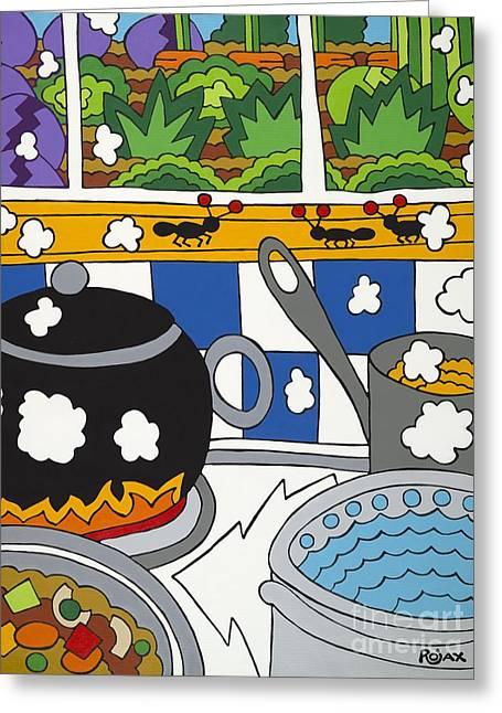 Kitchen Garden Greeting Card