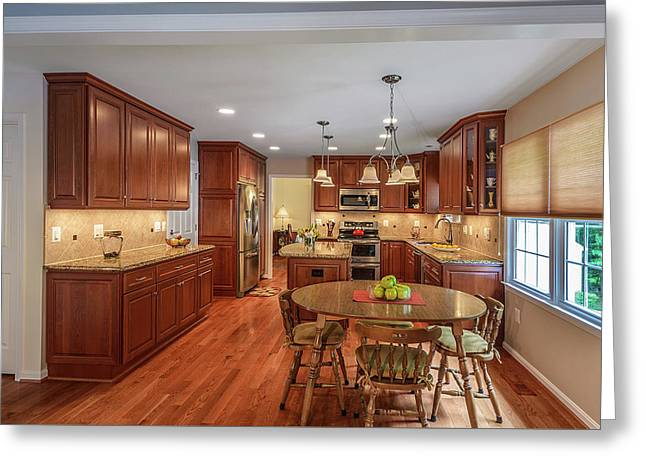 Kitchen Remodeling Springfield Va Greeting Card