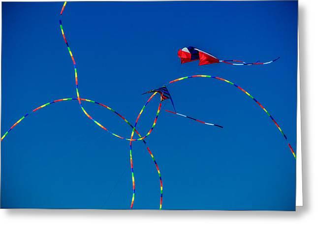 Kite Tails Greeting Card