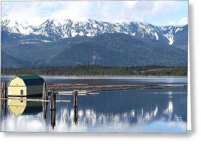 Kitimat Greeting Card