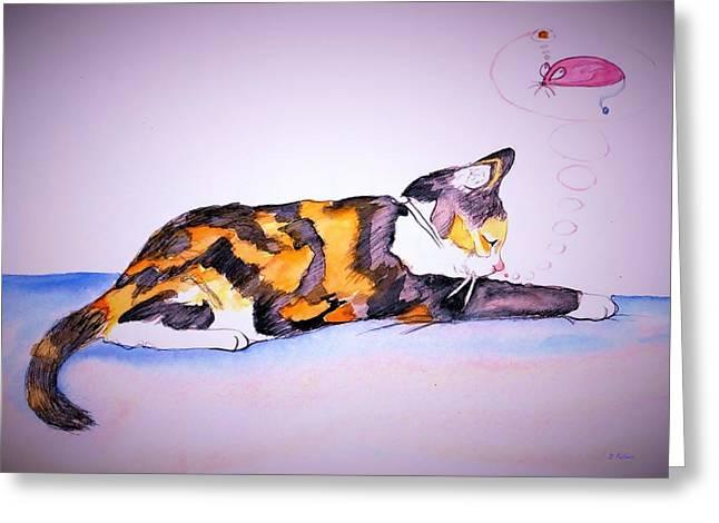 Kitty Cat Greeting Card