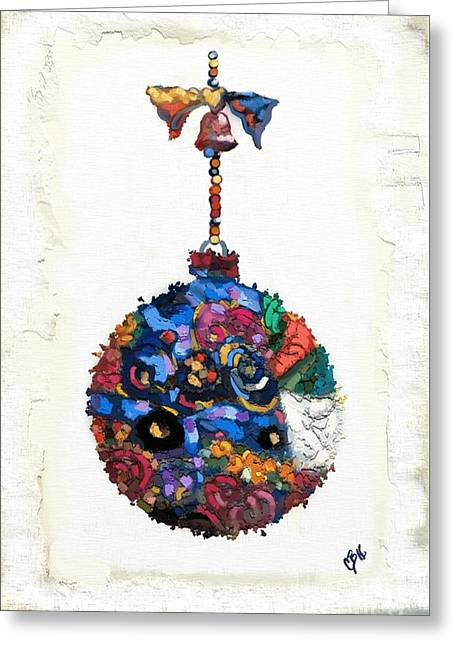 Klimt Ornament Greeting Card