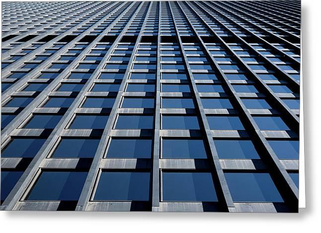 Kluczynski Federal Building Chicago Greeting Card by Steve Gadomski