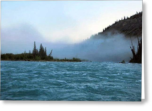 Klutina River Greeting Card by Adam Owen