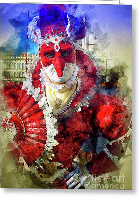Knave Of Hearts Greeting Card