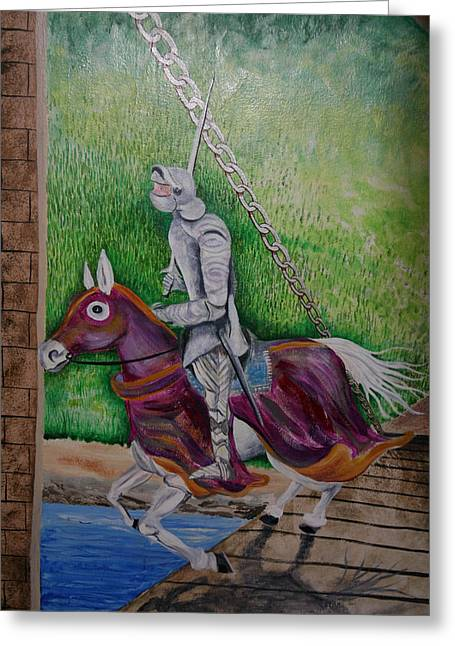 Knight  A Coming Greeting Card