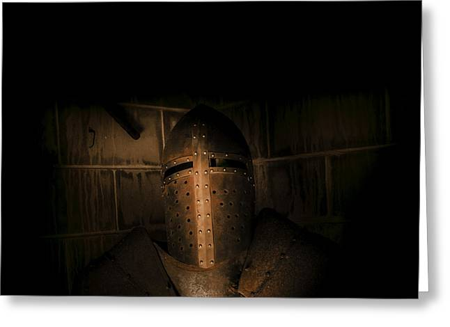 Knight Of Darkness Greeting Card by Jorgo Photography - Wall Art Gallery