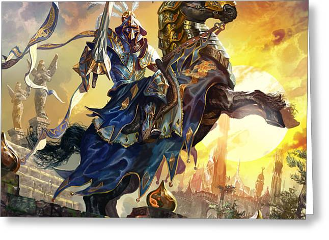 Knight Of New Benalia Greeting Card