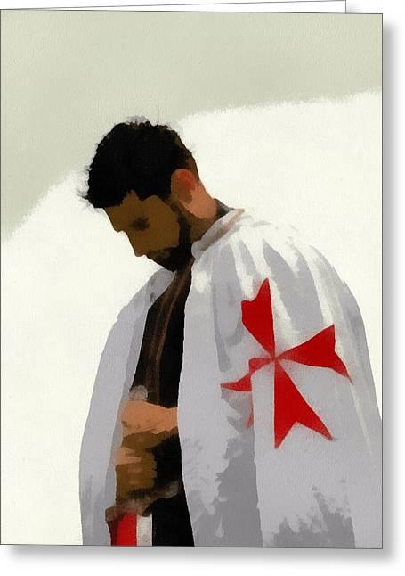 Knights Templar 2 Greeting Card