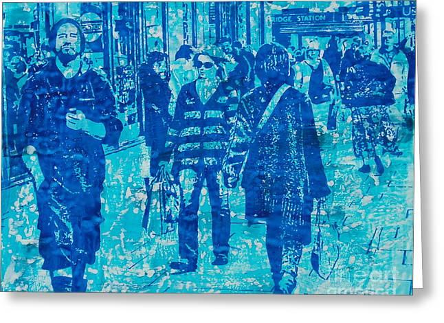 Knightsbridge And Brompton Greeting Card