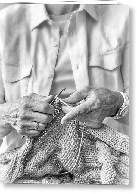 Crochet Hands Greeting Card
