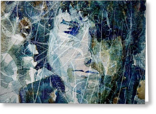 Knocking On Heaven's Door Greeting Card by Paul Lovering