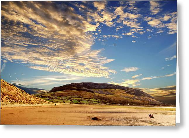 Knocknarae From Culleenamore Beach Greeting Card