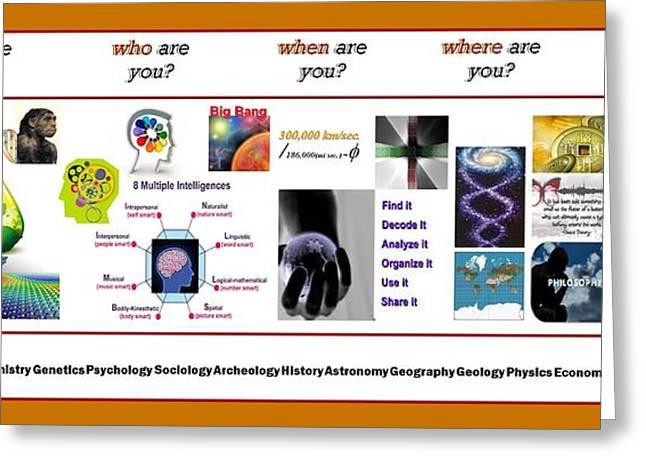 Know Thyself Greeting Card
