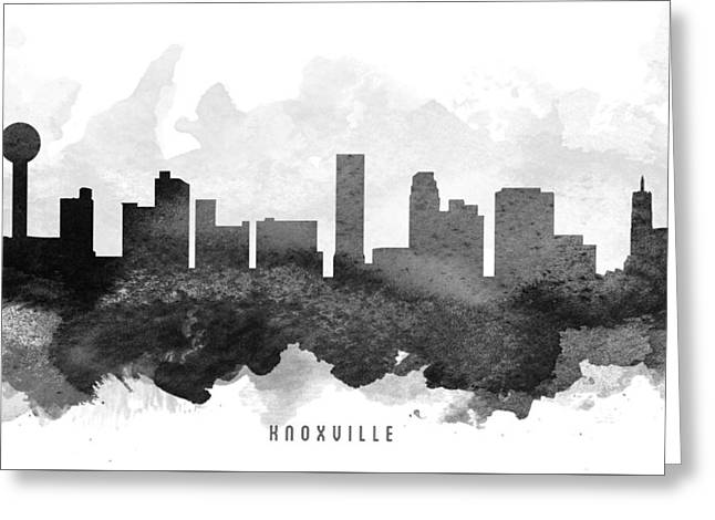 Knoxville Cityscape 11 Greeting Card