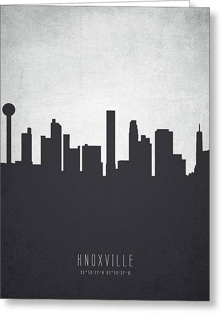 Knoxville Tennessee Cityscape 19 Greeting Card