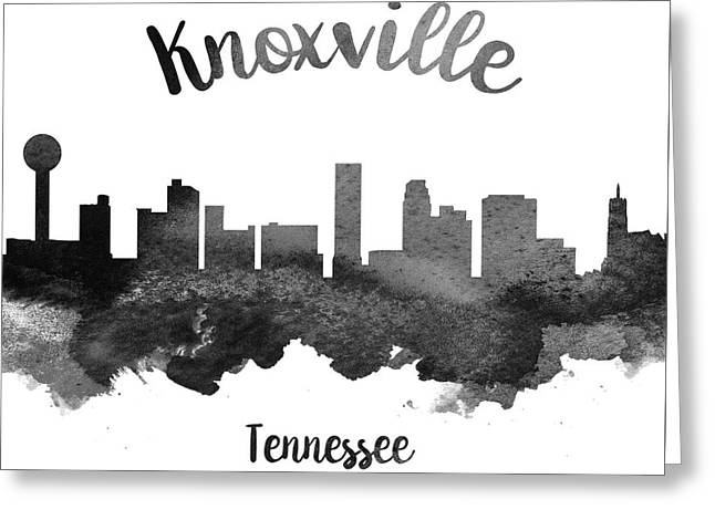 Knoxville Tennessee Skyline 18 Greeting Card