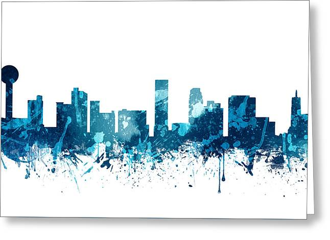 Knoxville Tennessee Skyline 19 Greeting Card