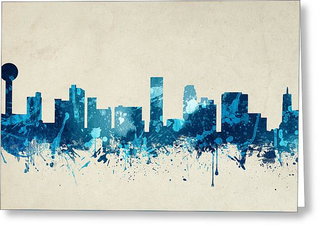 Knoxville Tennessee Skyline 20 Greeting Card