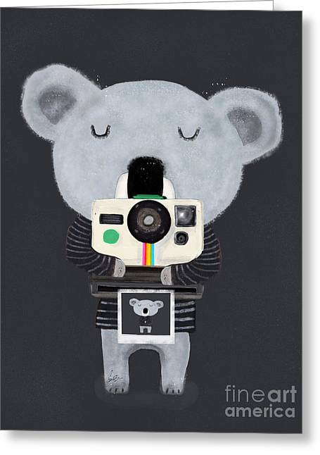 Koala Cam Greeting Card
