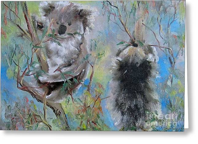 Koalas Greeting Card