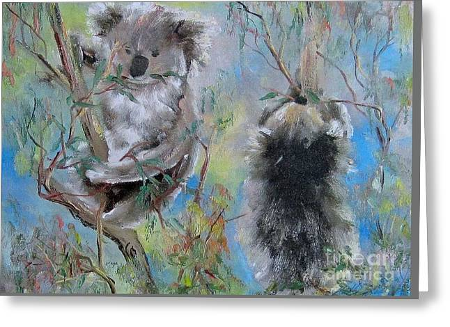 Koalas Greeting Card
