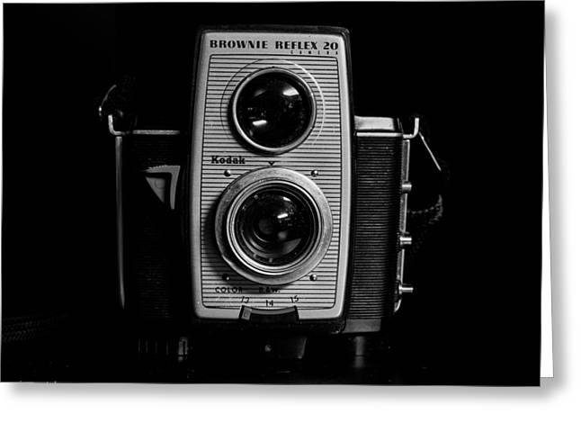Kodak Brownie Reflex 20 Camera Greeting Card