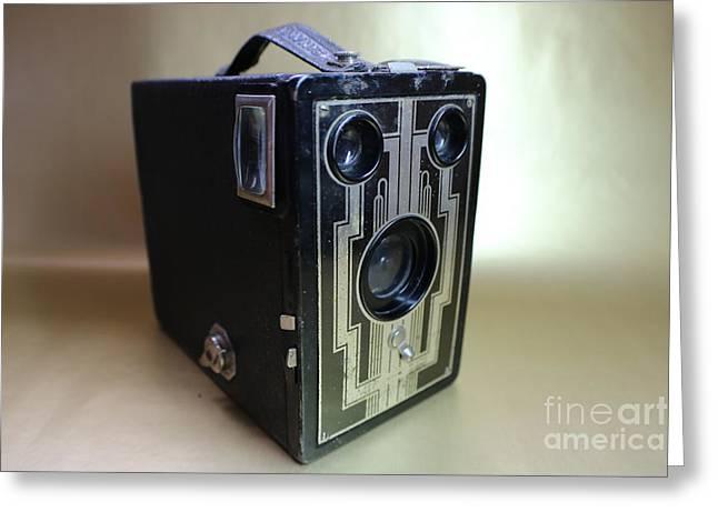 Kodak Brownie Six-16  Greeting Card by Erick Schmidt