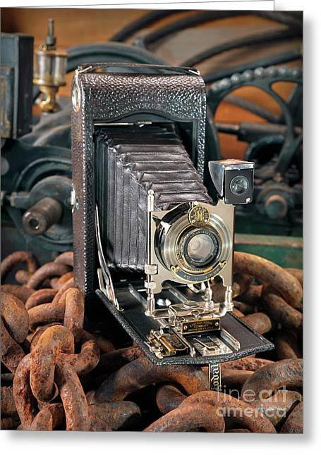 Kodak No. 3a Autographic Camera Greeting Card