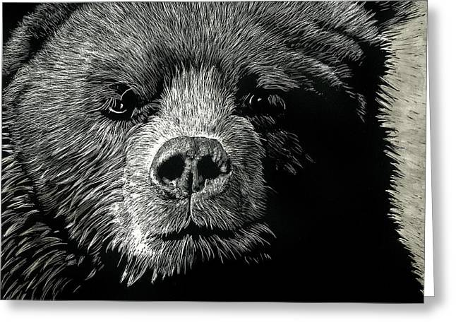Kodiak Moment Greeting Card