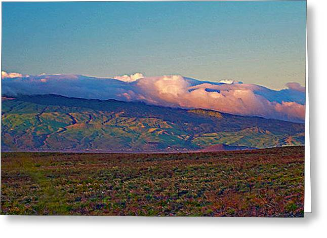 Kohala Mountains - Big Island Greeting Card