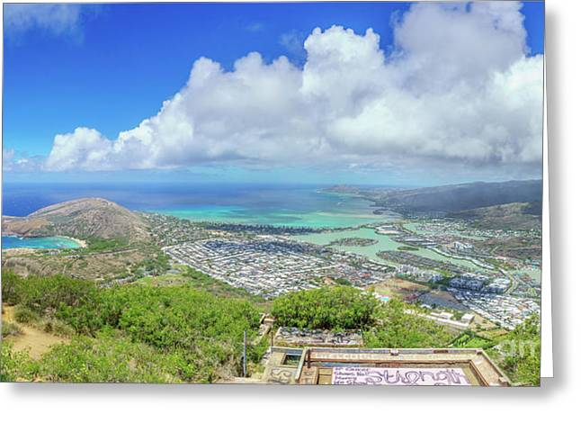 Kokohead Oahu, Hawaii Greeting Card