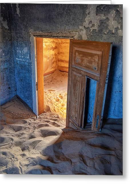 Kolmanskop Greeting Card