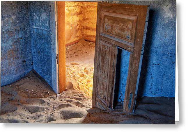Kolmanskop Greeting Card