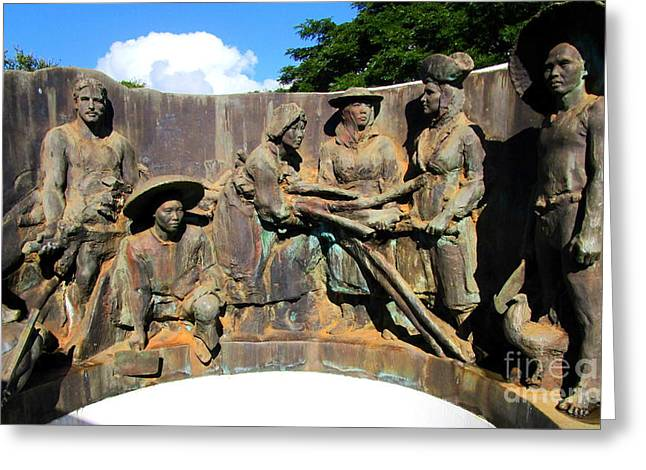 Koloa Sugar Industry Monument 1 Greeting Card