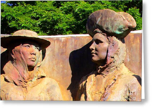 Koloa Sugar Industry Monument 2 Greeting Card