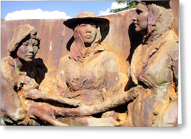 Koloa Sugar Industry Monument 3 Greeting Card