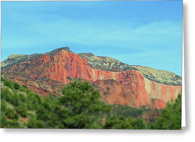 Kolob Canyon No. 20-1 Greeting Card