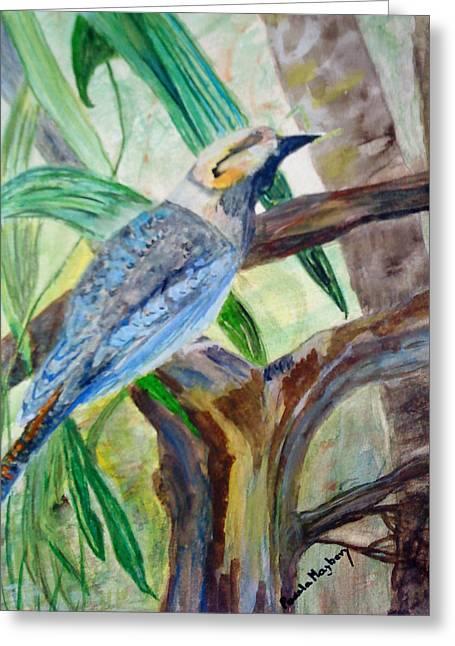 Kookaburra Dalcelo Leachii Greeting Card