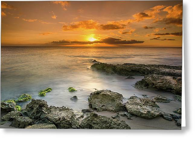 Koolina Sunset At The Cove Greeting Card